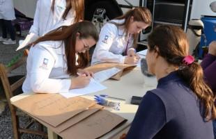 Curso de Medicina Veterinária castra 42 animais em ação gratuita em Garibaldi