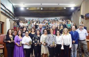 Seis personalidades são agraciadas pelo Legislativo caxiense com o Troféu Mulher Cidadã 2018
