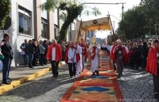 Procissão de Corpus Christi ocorre nesta quinta-feira, dia 31 de maio