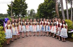 Embaixatrizes da Festa Nacional da Uva 2019 visitam o Governador José Ivo Sartori