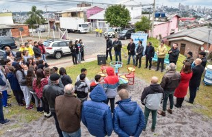 Samae inaugura Adutora Marrecas Rota do Sol na Zona Norte de Caxias do Sul