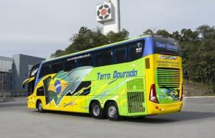 Marcopolo entrega primeiro ônibus de dois andares para o Rio Grande do Norte