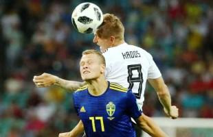Alemanha vence no fim e respira, no jogo mais emocionante da Copa