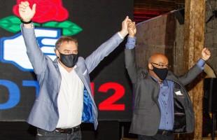 """Convenção do PDT confirma Néspolo candidato a prefeito de Caxias e Edson da Rosa (PP) a vice e lança coligação """"Avança Caxias Vibrante"""""""