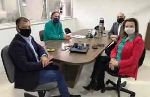 Política | Júlio Freitas e Chico Guerra recebem representantes da Festa Nacional da Uva Turismo e Empreendimentos S/A