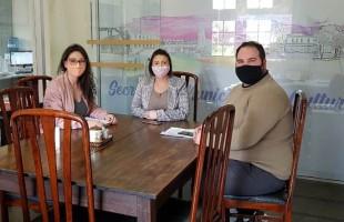 Secretária da Cultura recebe diretor de Cultura de Flores da Cunha para tratar sobre Lei Aldir Blanc