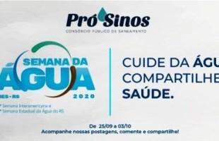 Pró-Sinos participa da programação da 27ª Semana Interamericana da Água e 20ª Semana Estadual da Água