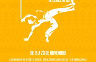 Semana da Capoeira inicia no próximo domingo com programação virtual e presencial