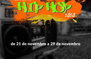 Programação da Semana do Hip Hop inicia neste fim de semana com shows e ações de grafite