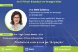 Webinar Circuito de Energia contará com palestra da Coordenadora do Núcleo de Tecnologia em Energia Solar, Izete Zanesco
