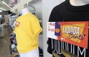 Comércio oferece descontos até o dia 31 de janeiro durante o 'Liquida Bento'