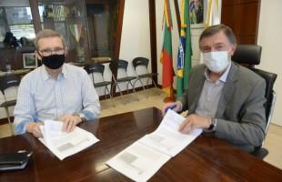 Prefeitura e Mão Amiga assinam termo de cooperação para o Restaurante Popular