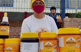 Agricultora de Jaquirana se destaca na apicultura