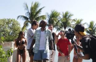 """Grupo da VISÃO grava clipe """"Mente Rara"""" com a participação do rapper Tarz4nn"""