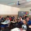 Guarda Municipal realiza ações preventivas na Escola Municipal Arnaldo Balvê, no bairro Santa Lúcia