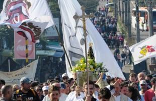 Setor Juventude realiza 5ª Romaria da Juventude ao Santuário de Caravaggio