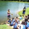 Colônia de Férias da Smel inicia com atividades náuticas de vela, remo e canoagem
