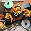 Na culinária, Camarão ensopado com chuchu