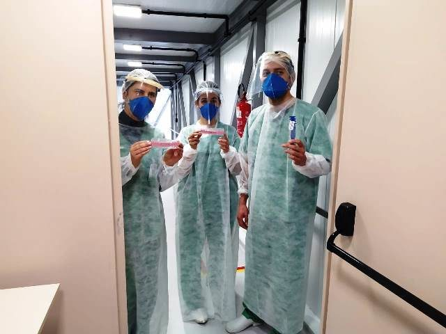 Hospital Independência - equipe do covid
