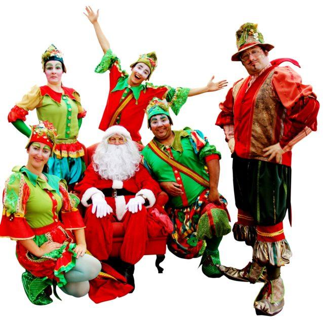 Trupe Papai Noel, Divulgação