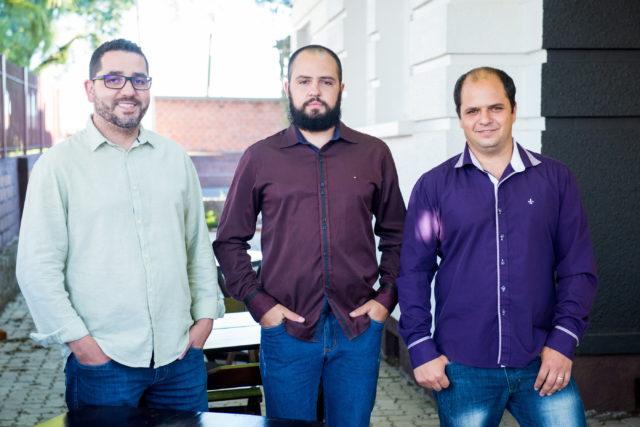 Alex Concer, Eduardo Buratti e Alexandre Buratti - Crédito Juliano Vicenzi