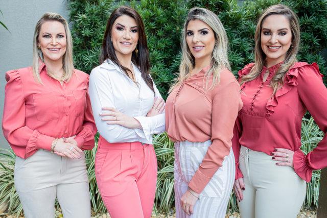 Lisiane Fenner Becker Rombaldi, Bruna Andres, Franciele Pilati e Marina Elisa Rombaldi - Crédito Vivi Tomas