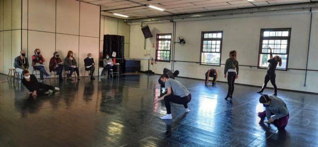 Novos bailarinos, Divulgação