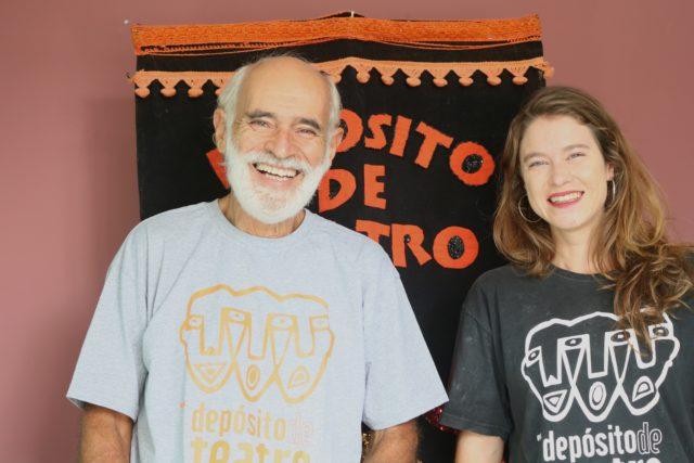 Roberto Oliveira e Elisa Heidrich - Crédito Depósito de Teatro