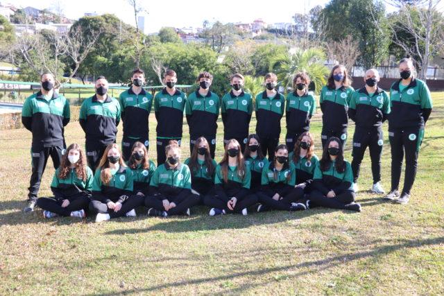 Equipes de natação do Recreio da Juventude - Crédito Anderson Civardi