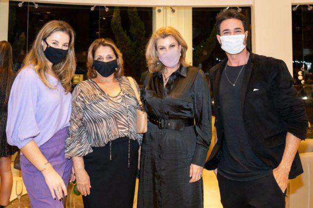 Fernanda Salvador, Eneida de Miranda, Cinthia Mendez e Paulo Ricardo