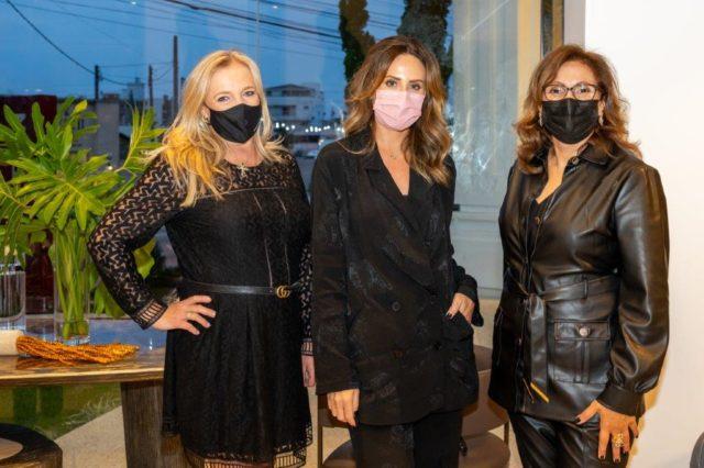Rose Fernandes, Martina Osa e Sandra Braga