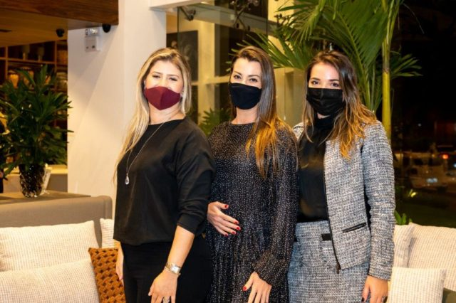 Vanessa Bertoglio, Juliana Tessari e Bruna Fernandes