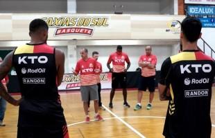 Esportes | Está oficialmente aberta a temporada para a KTO/Caxias do Sul Basquete.