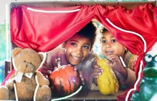 Oficina Teatro da Casa em Casa – Criando com a Família, uma oportunidade imperdível de interatividade com as crianças!