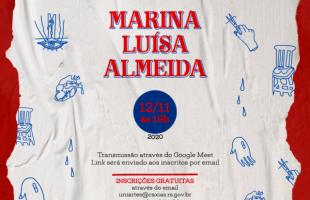 Sala de Exposições do Centro de Cultura Ordovás recebe exposição com obras da artista Marina Luisa Almeida