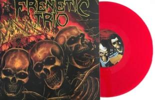 Primeiro álbum do Frenetic Trio ganha versão em vinil colorido
