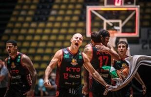 Basquete | KTO Caxias do Sul vence na prorrogação e está cada vez mais perto dos playoffs