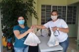 Kits de alimentação são distribuídos a famílias de estudantes em Veranópolis