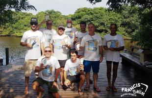 Desafio 11 Km Ilha Grande / Foz do Rio Palmares primeiro evento de maratona aquática do RS pós-retomada das atividades foi um sucesso