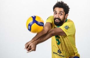 Levantador da Seleção Brasileira de Vôlei formado na UCS, Fernando Gil Kreling se consagra campeão da Liga das Nações