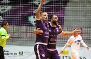 Futsal   BGF conhece o seu adversário na semifinal da Taça Farroupilha – Região Serra