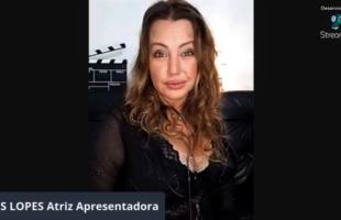 Cris Lopes apresenta cerimônia de premiação online do Festival de Cinema de Bento Gonçalves 2021 e realiza a entrega dos prêmios aos melhores filmes