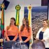 Prefeito Daniel Guerra recebe candidatas à rainha da Festa da Uva 2019