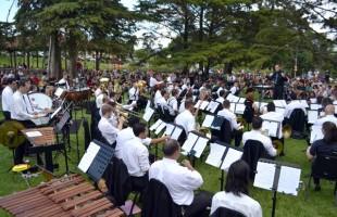 Concerto de Verão atrai mil pessoas ao Jardim Botânico de Caxias do Sul
