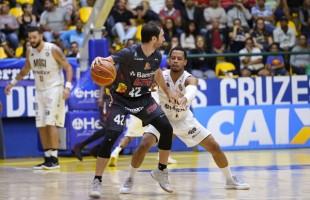 Em jogo emocionante, Caxias Basquete perde em Mogi