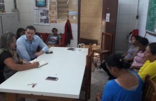 Prefeitura presta apoio à Associação de Recicladores do loteamento Monte Carmelo