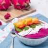 Smoothie de pitaya, beterraba e chia