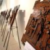 """Abertura da exposição """"Via Lucis"""" reúne 100 pessoas na Casa da Cultura"""
