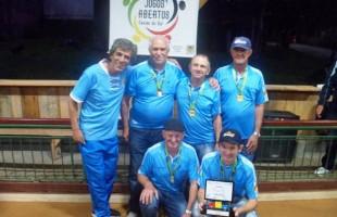 União Forquetense é a campeã dos Jogos Abertos de Bocha em Areia