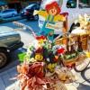 Bicicletas decoradas mostram o cotidiano rural durante a Festa da Colônia